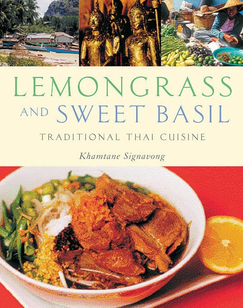 Lemongrass and Sweet Basil