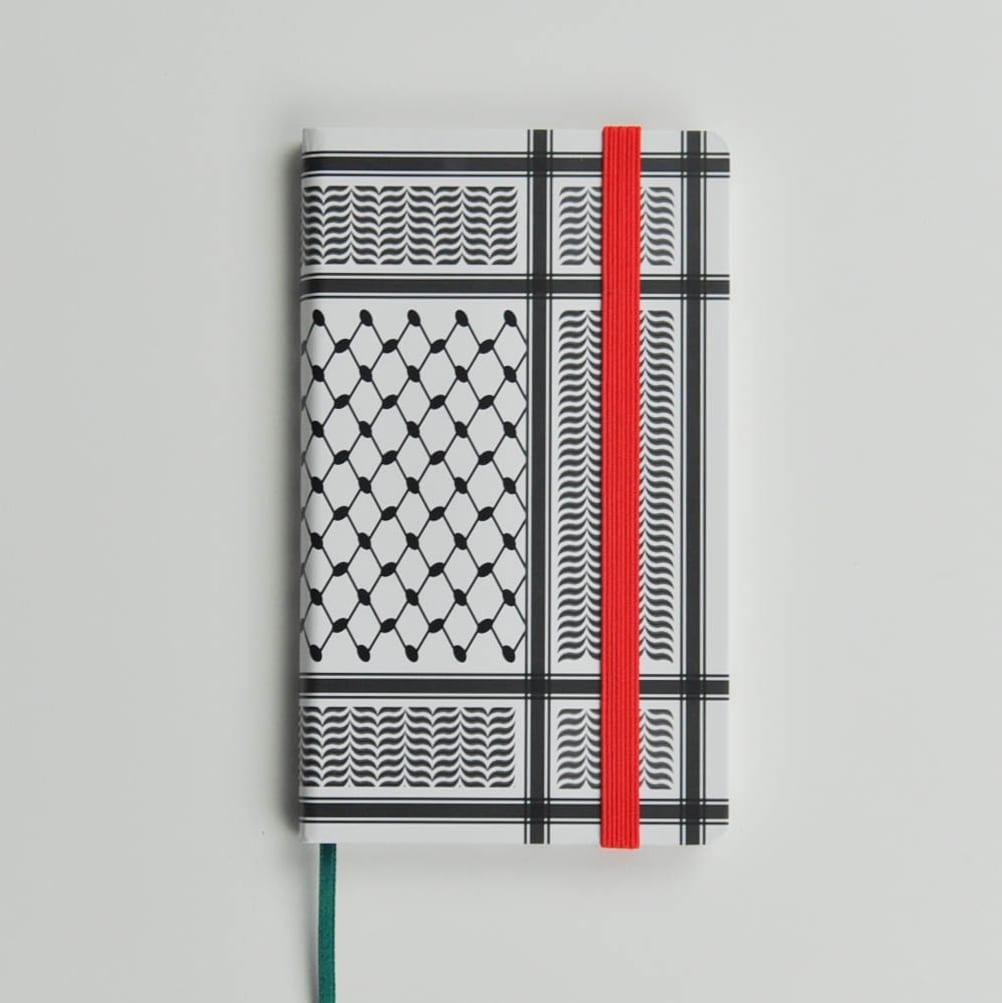 Black Kaffiyeh Pocket Journal